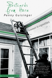 Postcards From Here by Maine writer Penny Guisinger