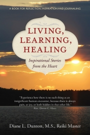 Living, Learning, Healing by Maine writer Diane L. Dunton