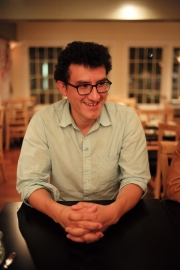 Maine writer Marco Aviles