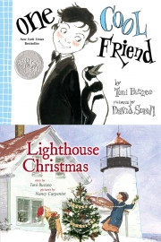 One Cool Friend and Lighthouse Christmas by Maine author Toni Buzzeo