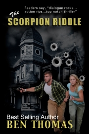 The Scorpion Riddle by Maine writer Ben Thomas